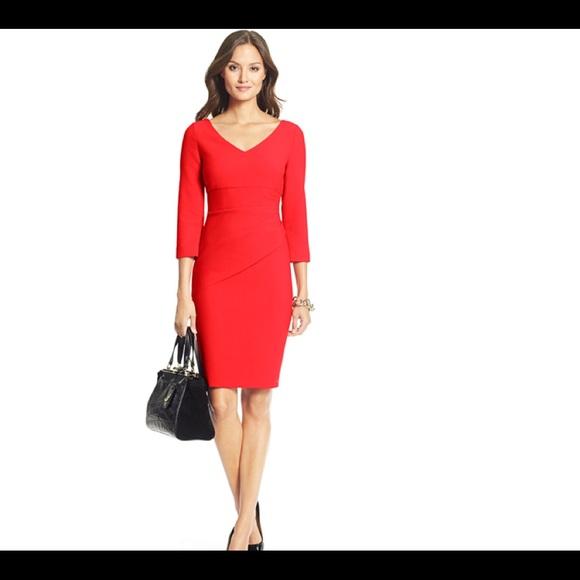 461cce3cb6e Diane von Furstenberg Red Dress 12